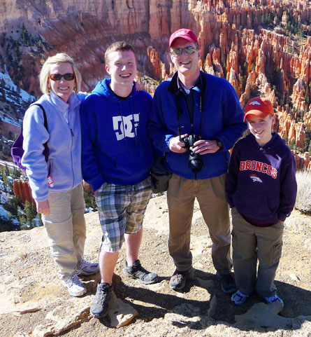 Brock Family in Bryce Canyon