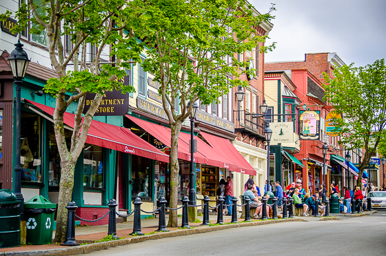 Bar Harbor, Main Street