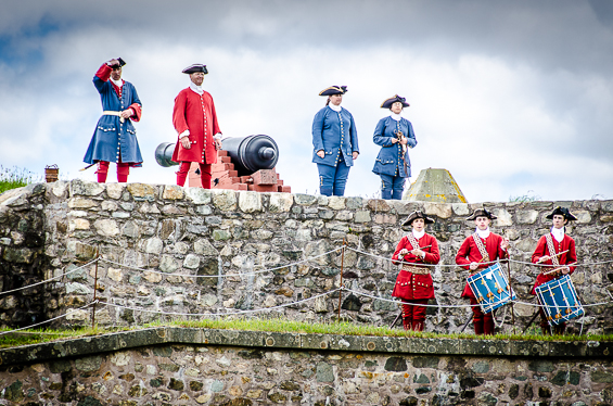 Soldiers at Louisbourg