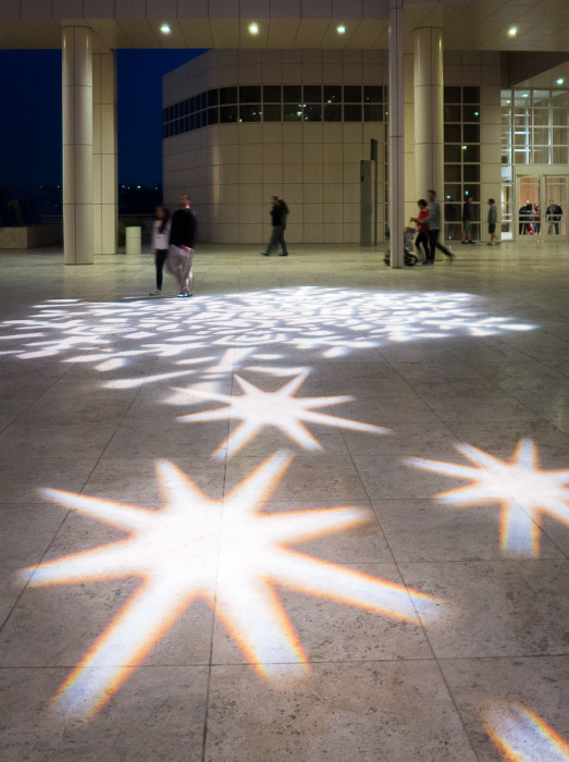 Getty holiday lighting