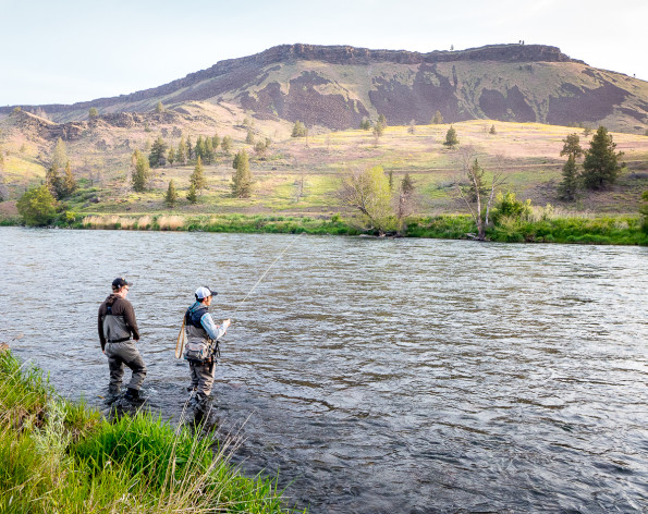 Fishing the Deschutes