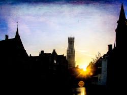 Brugge Sunset